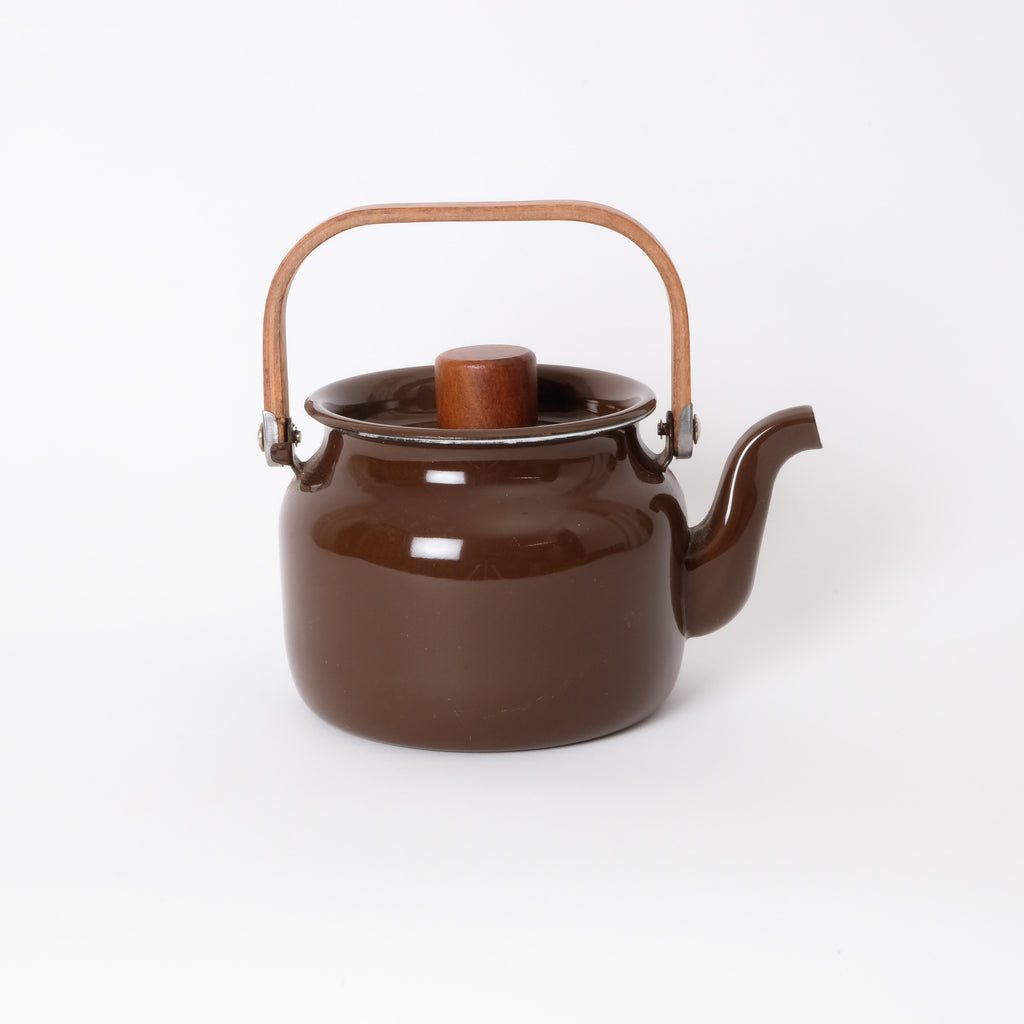 Enamel Brown Kettle