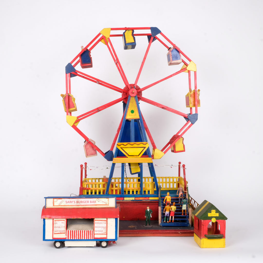 Handmade Wooden Fairground Big Wheel