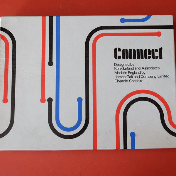 Connect 1970s Board Game