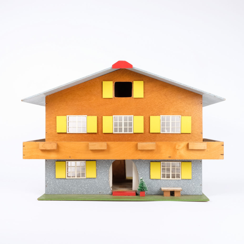 Beautiful Swiss Cabin Doll's House