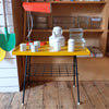 Beautiful Yellow Vintage Coffee Table
