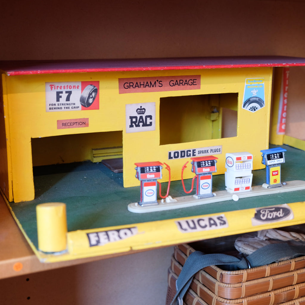 Kids Wooden Garage