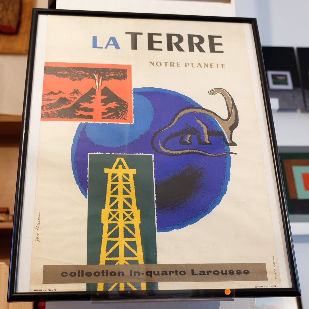 La Terre Vintage French Poster