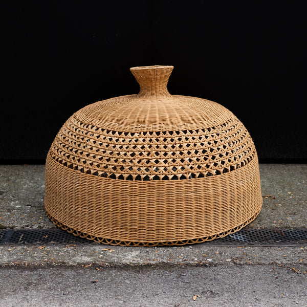 Amazing 1970s Wicker Lampshade