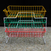 Colourful Wire Mesh Trays