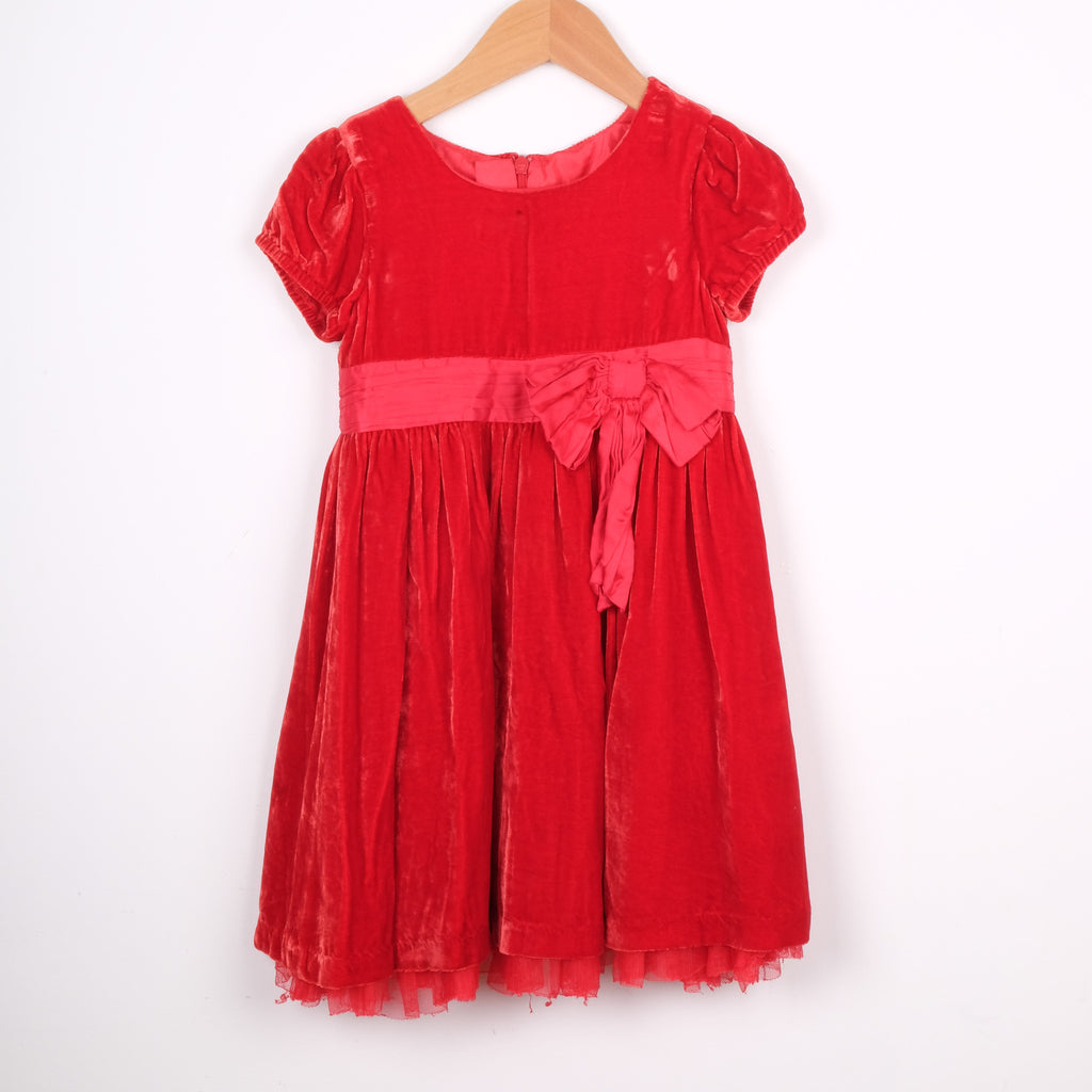 John Lewis Red Party Dress