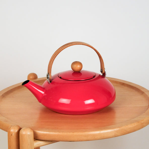 Beautiful Red Teapot