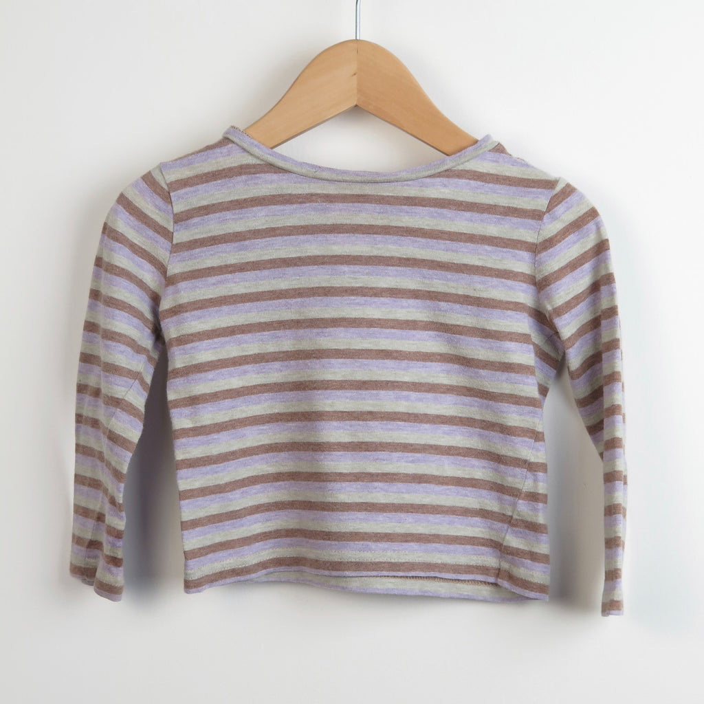 Caramel Baby Striped Top