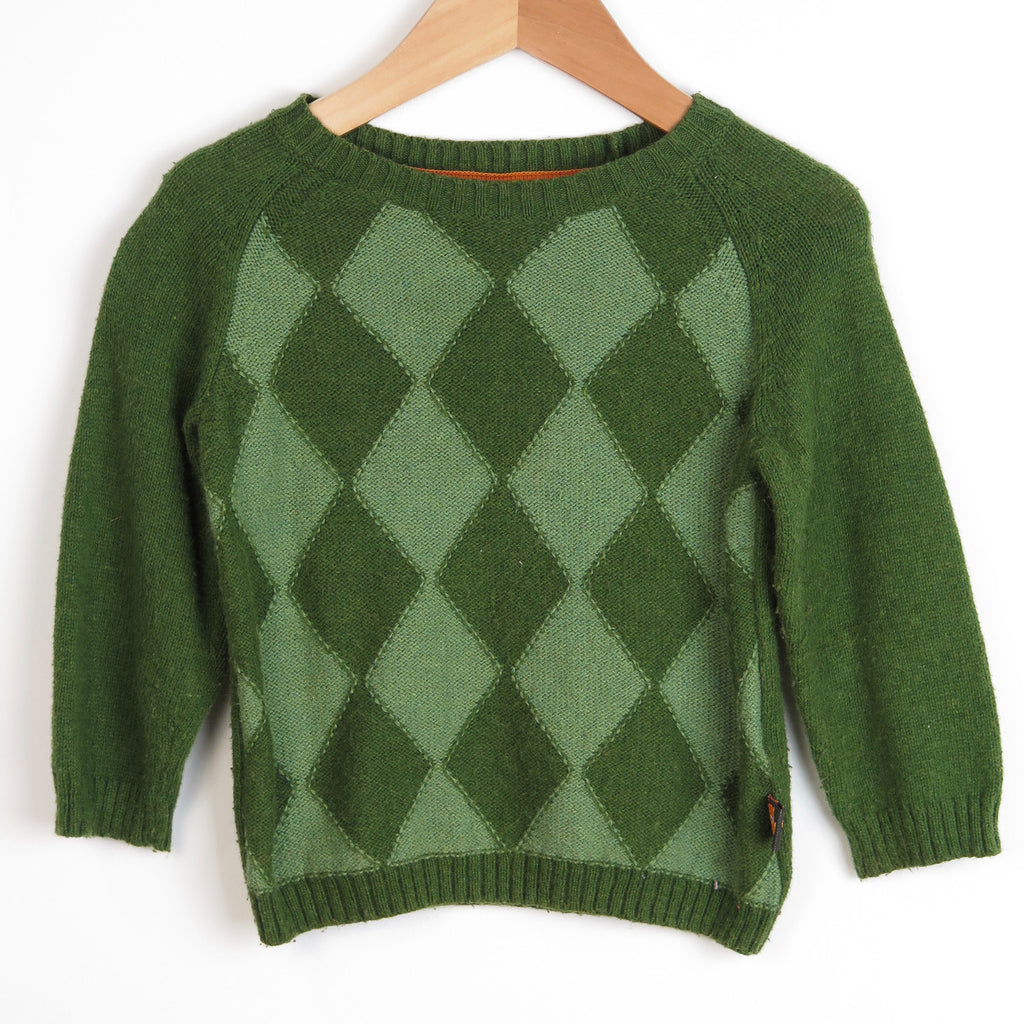 Green Diamond Jumper
