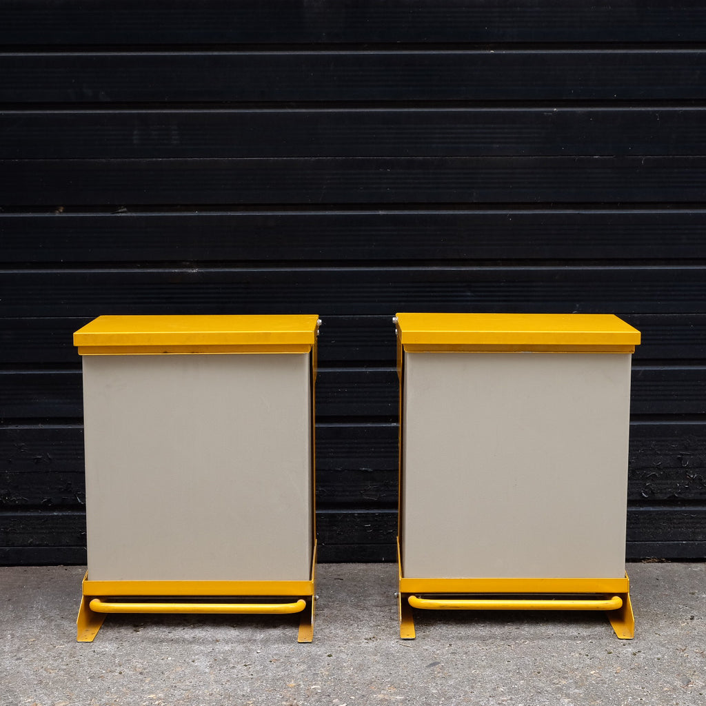 Beautiful Yellow Bins