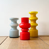 A Colourful Collection of Scandanavian Glass Vases