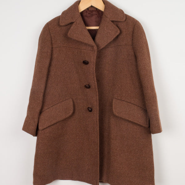 Vintage Wool Winter Coat