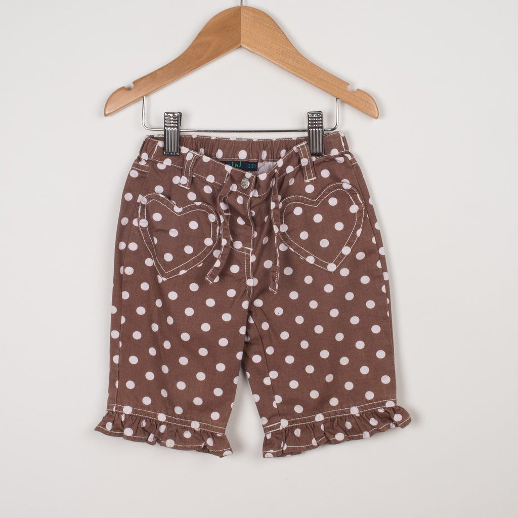 Mini Boden Spotty Shorts