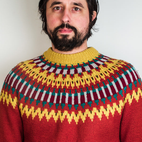Mens Inca Jumper