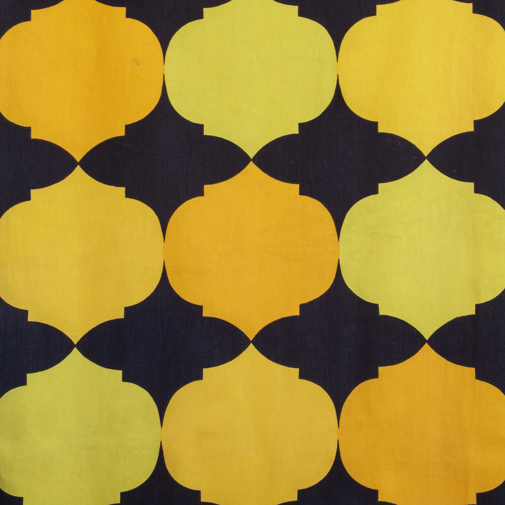 Heals 1970's Cotton Fabric (2sqm)