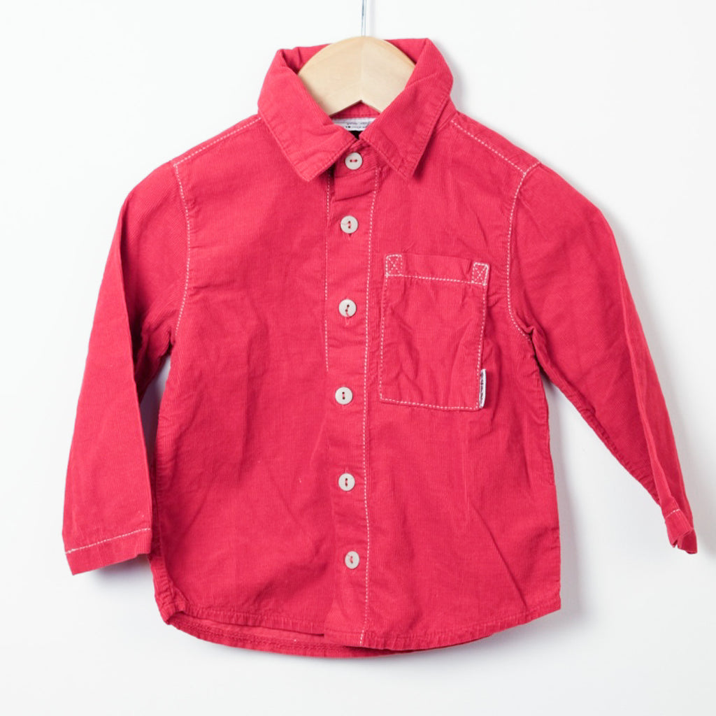Red Cord Shirt