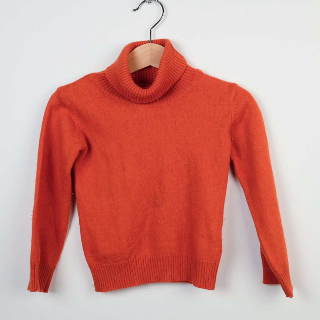 Neck Neck Rust Cashmere Jumper