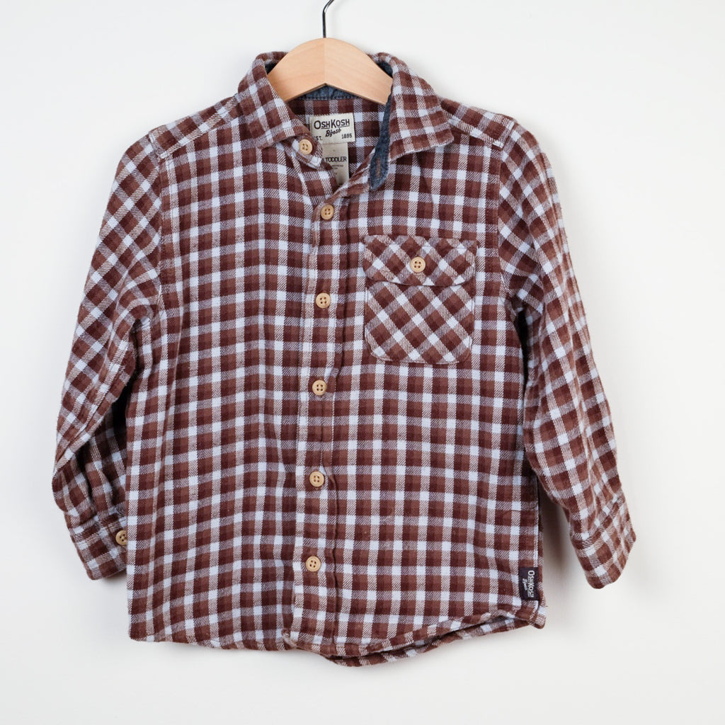 Osh Kosh Checked Shirt