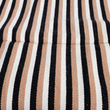 Woven Stripey Cushion Cover