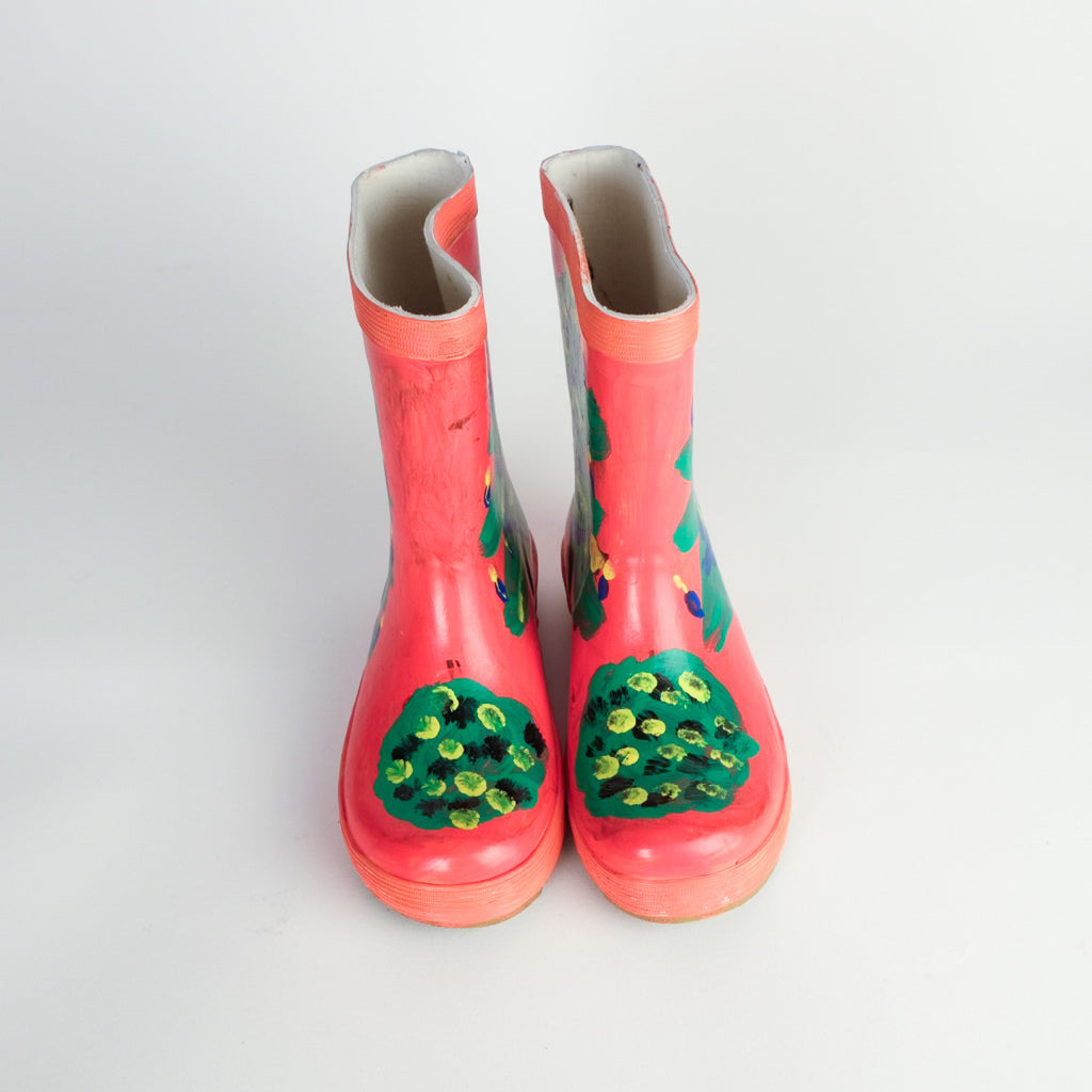 Christmas Tree Wellies