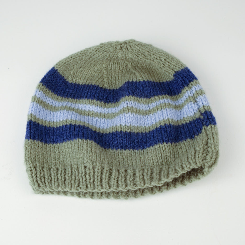 Hand Knitted Wooley Hat