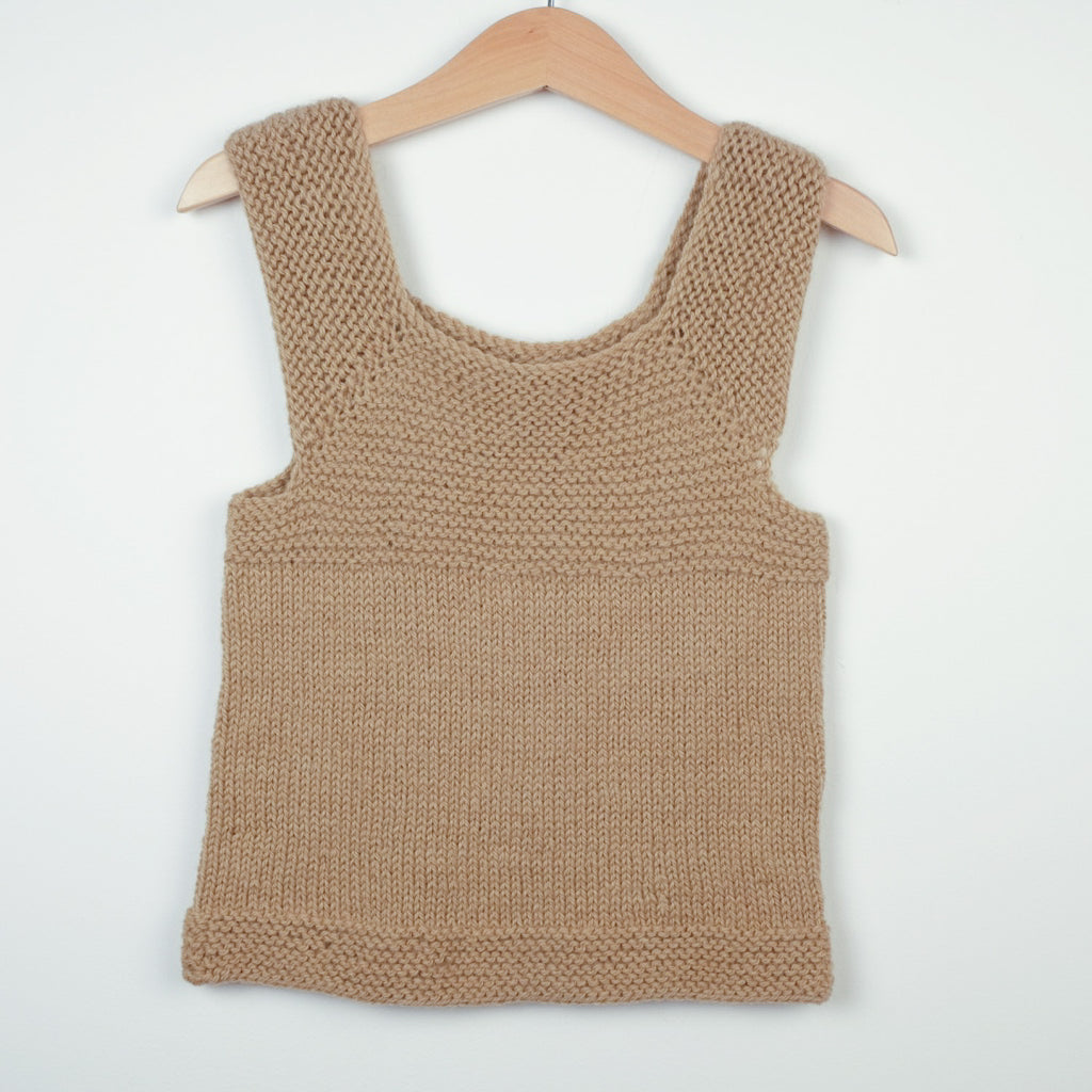 Hand Knitted Tank Top