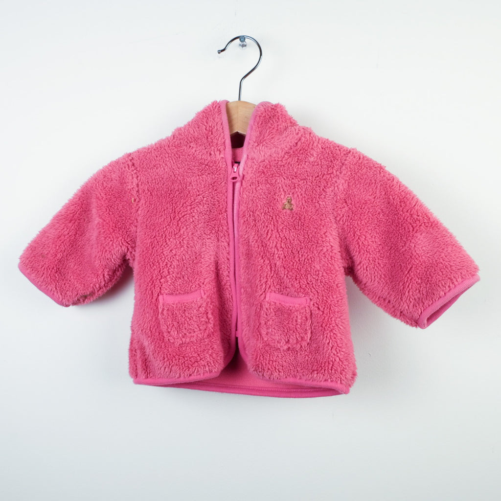 Baby Gap Pink Fleece Zip Jacket