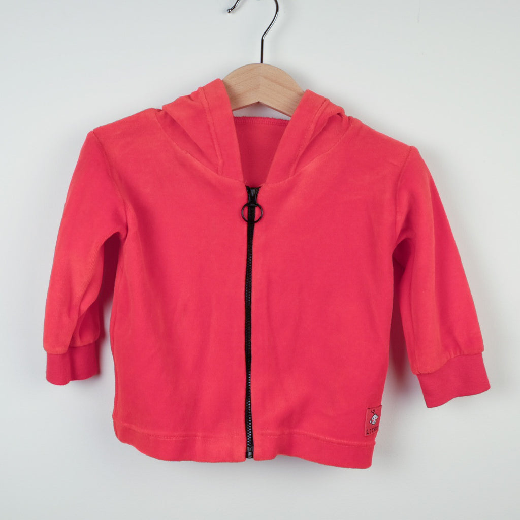 Red Zip Top