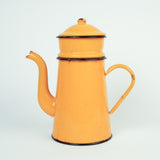 French Enamel Coffee and Tea Pots