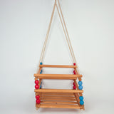 Wooden Child's Swing