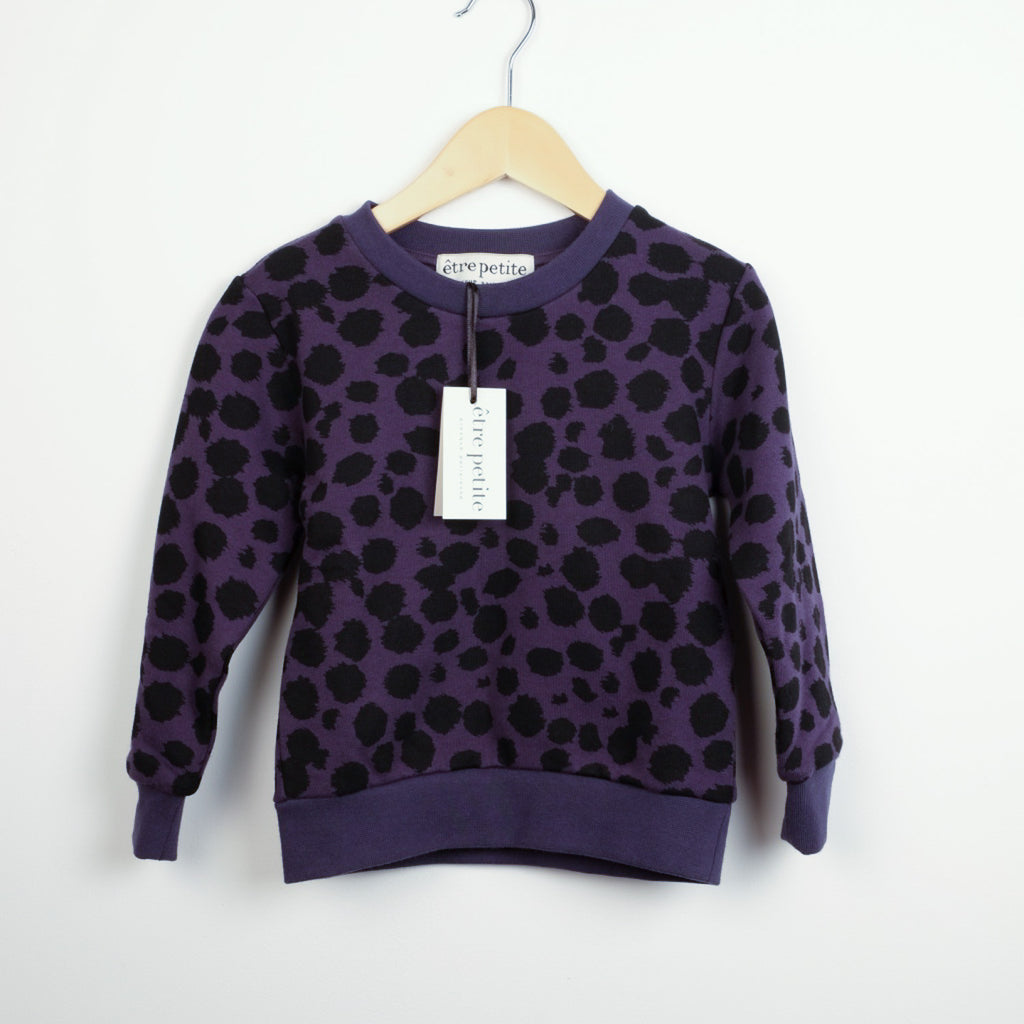 New Animal Print Sweatshirt Top