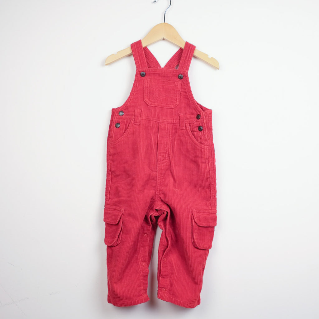 Red Cord Dungarees