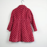 Mini Boden Spotty Velvet Coat
