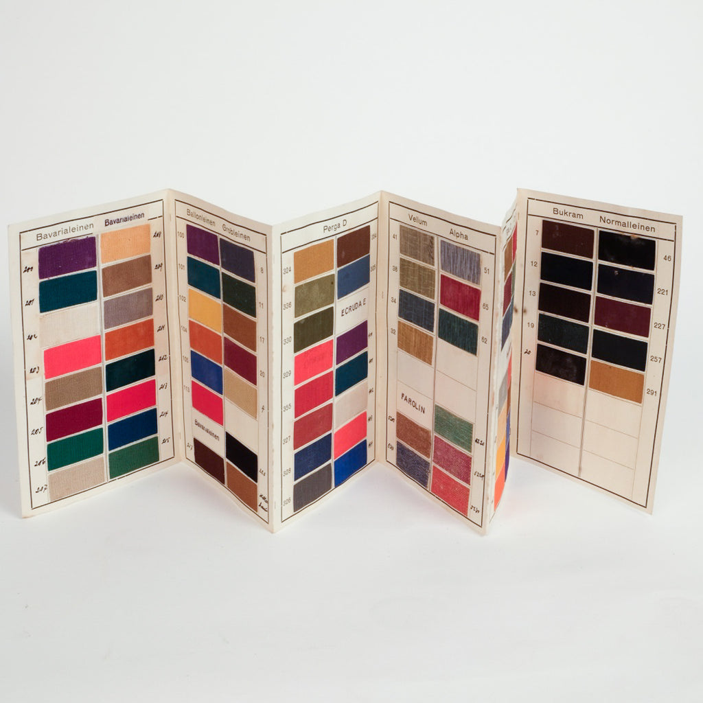 Colourful Bookbinding Samples