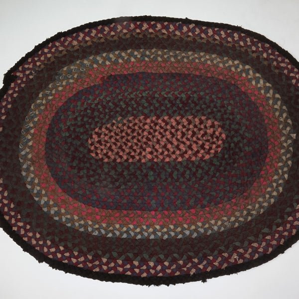 Antique Braided Rug