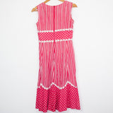 French Vintage Summer Dress