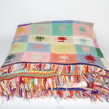 Colourful Knitted Granny Blanket