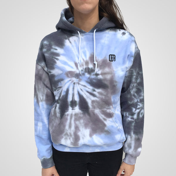 Trendy tie dye hoodie by Culture Apparel