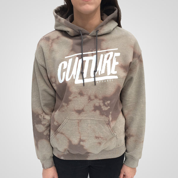 Bleach Culture Apparel hoodie in beige