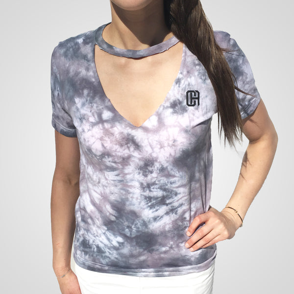 Grey Mystery Chocker Culture T-Shirt