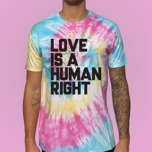 Love is a Human Right LGBT T-shirt