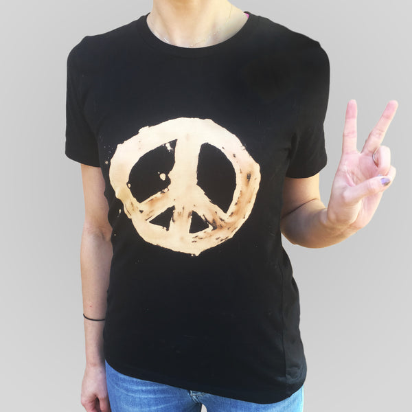 Peace Out Bleached Culture T-Shirt