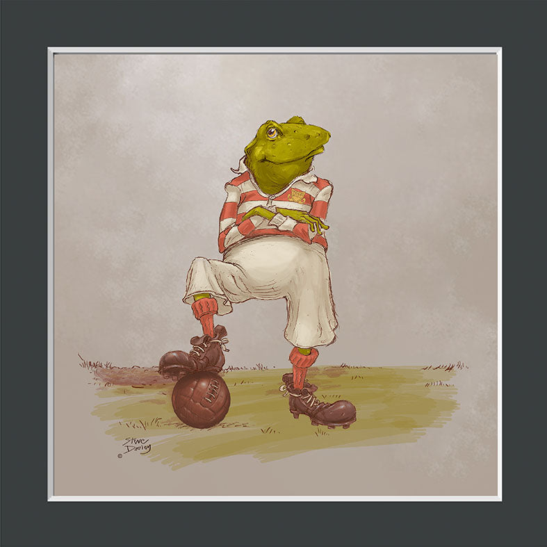 Mr Toad Football Print - Ellerby England