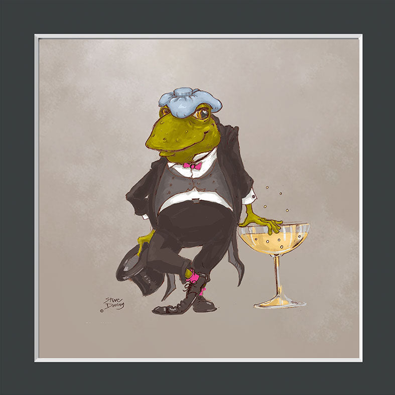 Mr Toad Splendid Evening Print - Ellerby England
