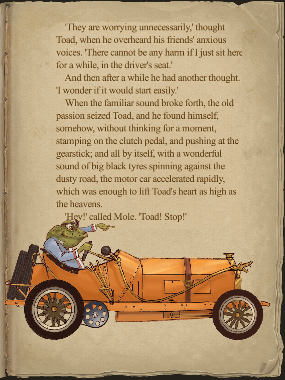 The Wind in the Willows App - Ellerby England