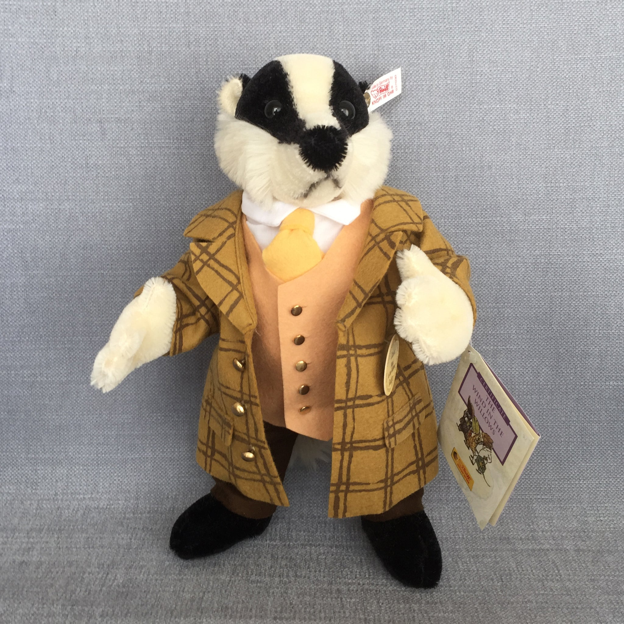 Steiff Classic Wind in the Willows Set - Mole, Ratty, Badger & Toad