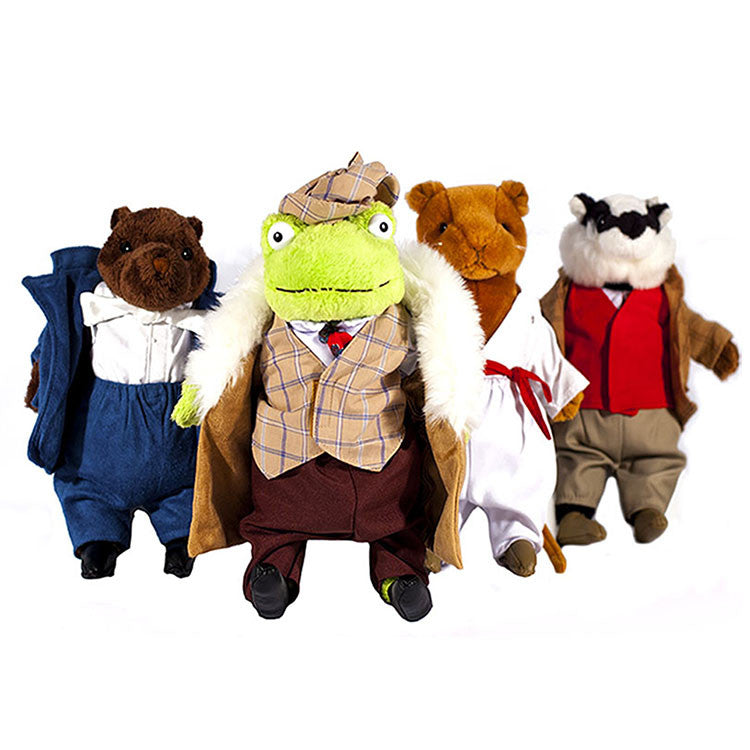 Wind in the Willows Soft Toy collection - Ellerby England
