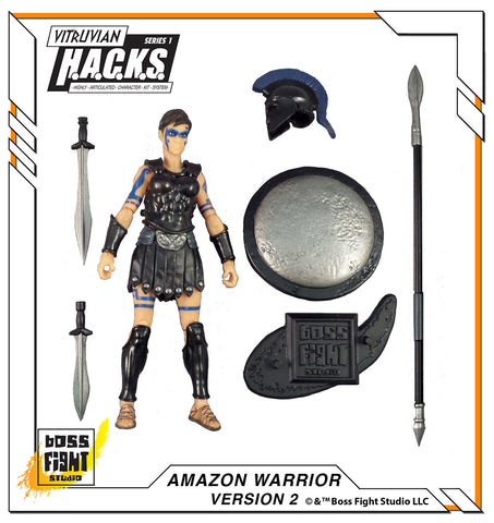 Vitruvian H.A.C.K.S. Amazon Warrior - Version 2