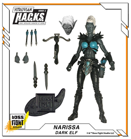 PRE-ORDER - Vitruvian H.A.C.K.S. Narissa - Leader of the Withered Branch