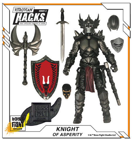 Vitruvian H.A.C.K.S. Knight of Asperity